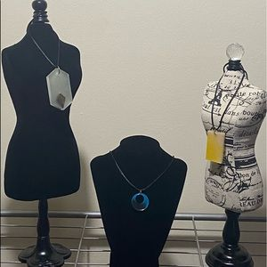 Jewelry - Handmade Chic necklace pendants w/ a twist.
